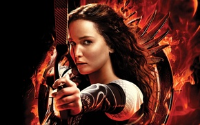 movies, Hunger Games, girl, Jennifer Lawrence, The Hunger Games