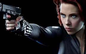 girl, Scarlett Johansson, celebrity, Black Widow