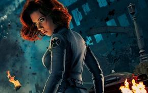 celebrity, The Avengers, Scarlett Johansson, girl