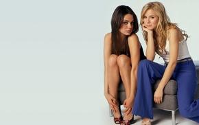 Mila Kunis, Kristen Bell, girl, celebrity