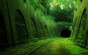tunnel, railway, abandoned