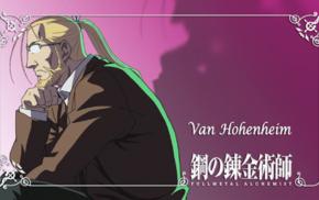 Van Hohenheim, Fullmetal Alchemist Brotherhood