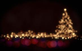 Christmas, blurred