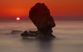 landscape, Sun