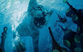 Magic The Gathering, underwater, fantasy art