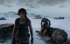 Lara Croft, Rise of the Tomb Raider, GTX 980, Tomb Raider, Ultra Settings, pistol