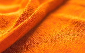 yellow, orange, macro, cloth