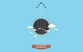 guitar, minimalism