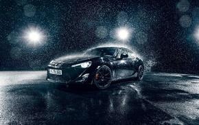rain, vehicle, car, Toyota 86