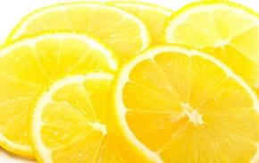 yellow, fruit, lemons