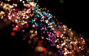 bokeh, colorful, depth of field, blurred, lights