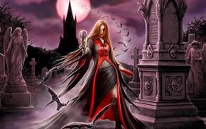 vampires, artwork, fantasy art