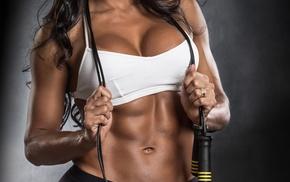 girl, model, fitness model, boobs, sports