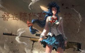 Chidori Kaname, artwork, Full Metal Panic