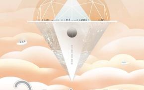 science fiction, planet, JPL Jet Propulsion Laboratory, space, Travel posters, Venus