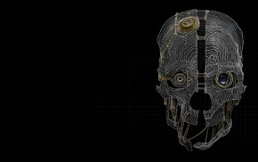 skull, Dishonored, mask, video games, Bethesda Softworks, steampunk