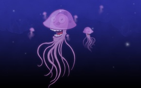 jellyfish, illustration