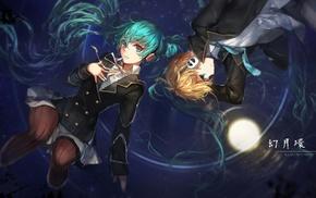 Hatsune Miku, swd3e2, Vocaloid, Kagamine Len