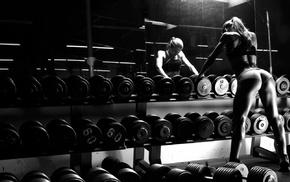 fitness model, gym clothes, ass, Ana Delia de Iturrondo, sport, sports