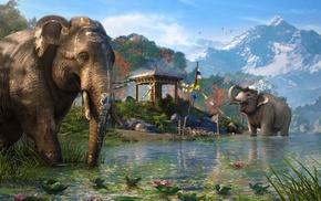 Far Cry, video games, artwork, Far Cry 4