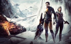 artwork, video games, Half, Life 2, Life, Gordon Freeman