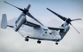 military aircraft, vehicle, USMC, Boeing, Bell V, 22 Osprey