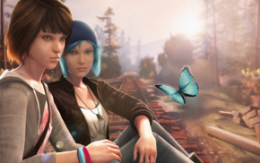 Life Is Strange, Max Caulfield, video games, Chloe Price