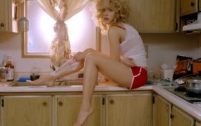 girl, Esquire, Scarlett Johansson, legs, shaving, celebrity