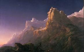 Prometheus mythology, Greek mythology, artwork, landscape