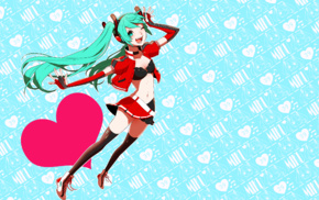 Vocaloid, anime girls, Hatsune Miku, anime