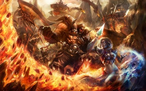 Jaina Proudmoore, video games, artwork, World of Warcraft