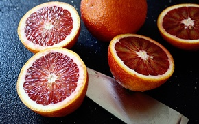 orange fruit, fruit, blood orange, orange