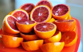 blood orange, orange fruit, orange, fruit