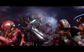 Halo, spaceship, Spartan Locke, Osiris Squad, Halo 5 Guardians