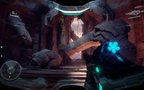 Spartan Locke, Halo, Osiris Squad, Halo 5 Guardians, spaceship