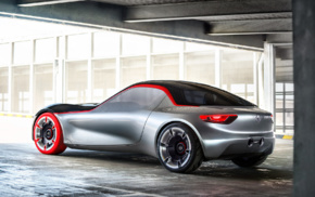 concept cars, vehicle, Opel GT, car