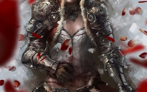 fantasy art, warrior