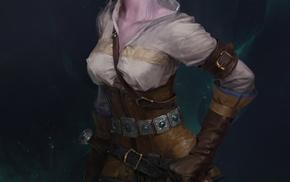 Cirilla Fiona Elen Riannon, fantasy art, fantasy girl, The Witcher, The Witcher 3 Wild Hunt, video games