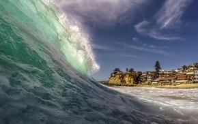 victoria beach, beach, sea, waves