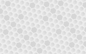 bright, honeycombs, hexagon, hive, simple, white