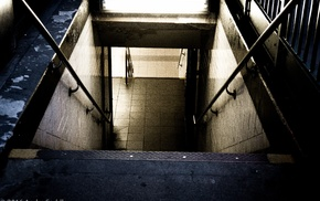 stairs, metro, New York City