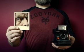 camera, photo manipulation, artwork, men, photography