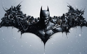 Batman, Batman logo, video games, Batman Arkham Origins