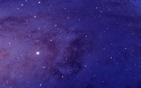 multiple display, space, stars, triple screen, closeup, Andromeda