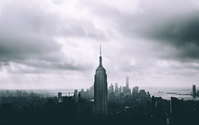 cityscape, New York City, Empire State Building, Empire State