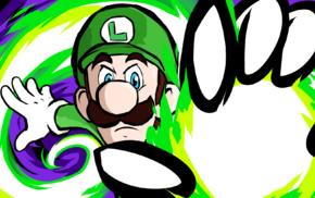 ishmam, Super Mario, Luigi, Super Mario Bros., Mario Bros., artwork