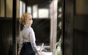 anime, Fate Series, anime girls, Saber
