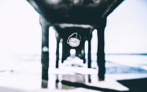 watches, watch, depth of field, waves, sea