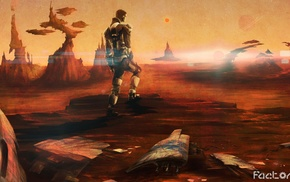 science fiction, Factorio, technology