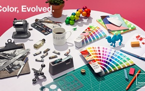 interior design, colorful, color correction, color codes, paint can, color wheel